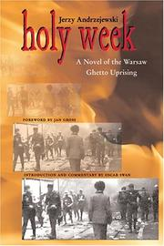 HOLY WEEK by Jerzy Andrzejewski