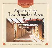 MISSIONS OF THE LOS ANGELES AREA by Diane MacMillan