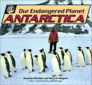 OUR ENDANGERED PLANET: ANTARCTICA by Suzanne Winckler