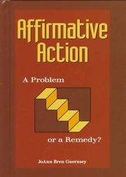 AFFIRMATIVE ACTION by JoAnn Bren Guernsey