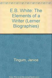 E.B. WHITE by Janice Tingum