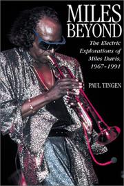 Book Cover for MILES BEYOND