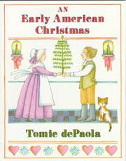 AN EARLY AMERICAN CHRISTMAS by Tomie dePaola