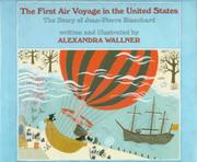 THE FIRST AIR VOYAGE IN THE UNITED STATES by Alexandra Wallner