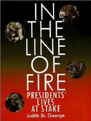 IN THE LINE OF FIRE by Judith St. George