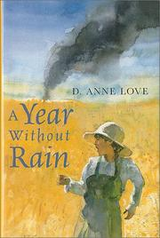 Cover art for A YEAR WITHOUT RAIN