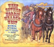 Book Cover for WHEN ESTHER MORRIS HEADED WEST
