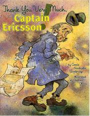 Book Cover for THANK YOU VERY MUCH, CAPTAIN ERICSSON!