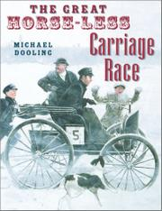 Cover art for THE GREAT HORSE-LESS CARRIAGE RACE