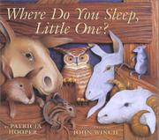 Cover art for WHERE DO YOU SLEEP, LITTLE ONE?