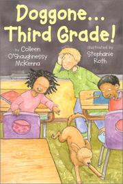 Cover art for DOGGONE...THIRD GRADE!