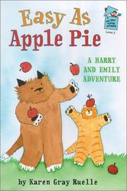 EASY AS APPLE PIE by Karen Gray Ruelle
