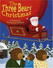 Book Cover for THE THREE BEARS' CHRISTMAS