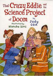THAT CRAZY EDDIE AND THE SCIENCE PROJECT OF DOOM by Judy Cox