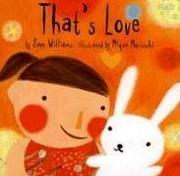 Book Cover for THAT'S LOVE