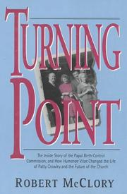TURNING POINT by Robert McClory