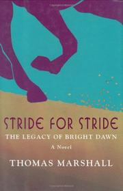 STRIDE FOR STRIDE by Thomas Marshall