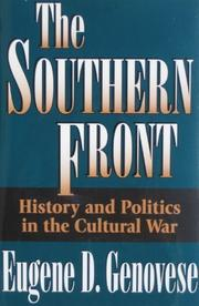 THE SOUTHERN FRONT by Eugene D. Genovese