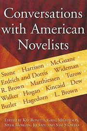 Book Cover for CONVERSATIONS WITH AMERICAN NOVELISTS