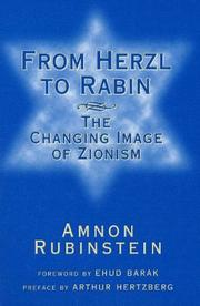 Book Cover for FROM HERZL TO RABIN