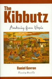 THE KIBBUTZ by Daniel Gavron