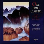 ONE HAND CLAPPING by Rafe Martin