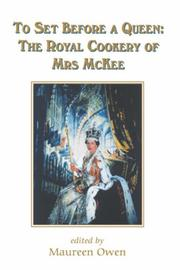 TO SET BEFORE A QUEEN by Alma McKee