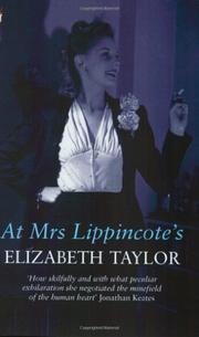 Cover art for AT MRS. LIPPINCOTE'S