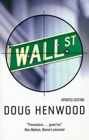 WALL STREET by Doug Henwood