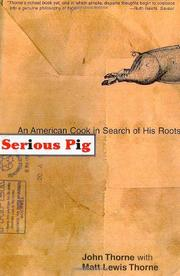 Book Cover for SERIOUS PIG