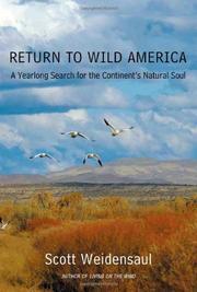 RETURN TO WILD AMERICA by Scott Weidensaul
