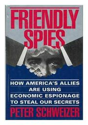Cover art for FRIENDLY SPIES