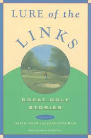 LURE OF THE LINKS by David Owen
