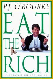Cover art for EAT THE RICH