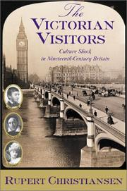 Book Cover for THE VICTORIAN VISITORS