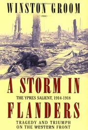 Book Cover for A STORM IN FLANDERS