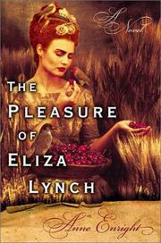 Book Cover for THE PLEASURE OF ELIZA LYNCH