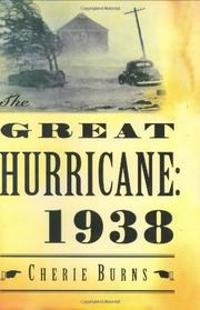 Cover art for THE GREAT HURRICANE