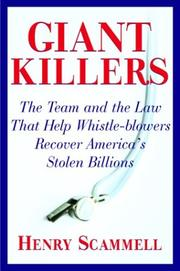 GIANT KILLERS by Henry Scammell