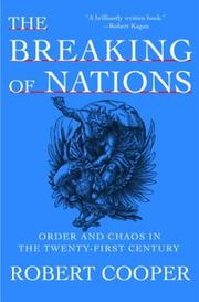 THE BREAKING OF NATIONS by Robert Cooper
