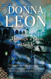 THROUGH A GLASS DARKLY by Donna Leon