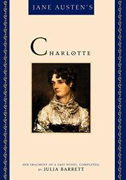 Cover art for JANE AUSTEN'S CHARLOTTE