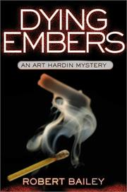 Book Cover for DYING EMBERS