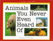 Book Cover for ANIMALS YOU NEVER EVEN HEARD OF