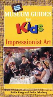 IMPRESSIONIST ART by Ruthie Knapp
