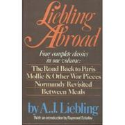 Cover art for LIEBLING ABROAD