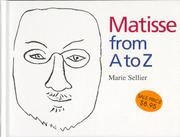 Cover art for MATISSE FROM A TO Z