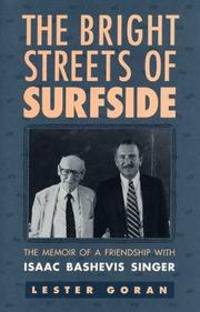 THE BRIGHT STREETS OF SURFSIDE by Lester Goran