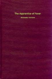 THE APPRENTICE OF FEVER by Richard Tayson