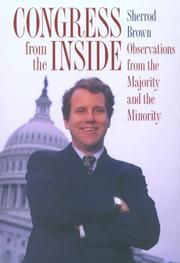 CONGRESS FROM THE INSIDE by Sherrod Brown